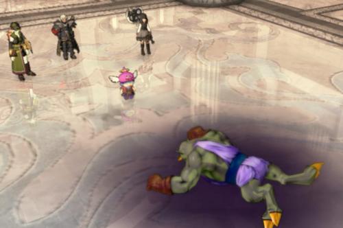 魔創兵ゲゾラを倒す