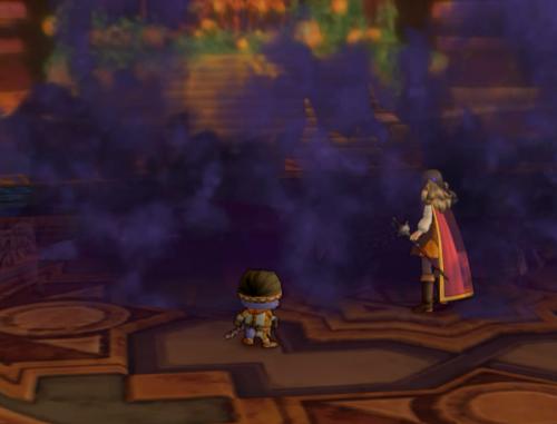 妖魔将ゲシュラを倒す