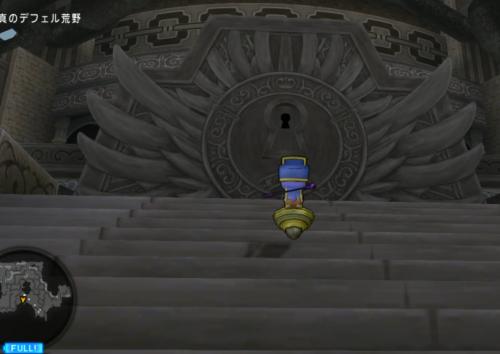 魔塔の入り口